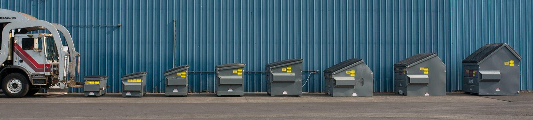 Photo Services Biz Garbage Sizes